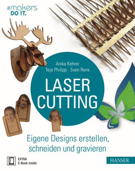 """""""Lasercutting"""" Hanser Verlag Buch - 320 Seiten inkl. E-Book"""