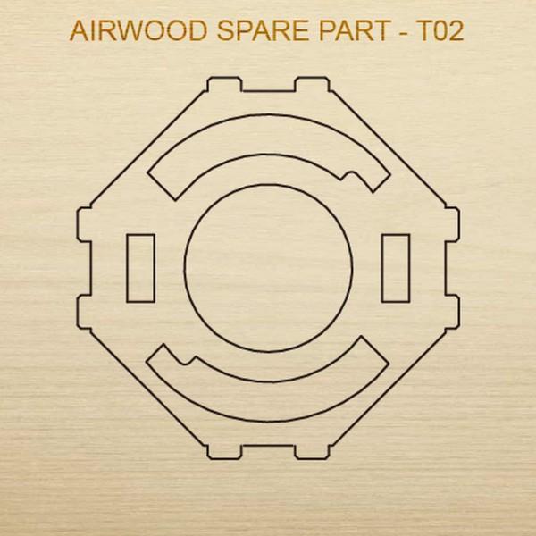 Airwood Holz Ersatzteil T02 / Spare Wood Part T02