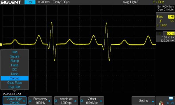 Siglent SDS1000X-E-WIFI / WLAN-Option für das Siglent SDS1000X-E