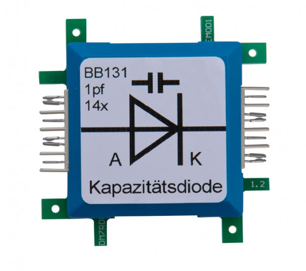 ALLNET Brick'R'knowledge Diode Kapazitätsdiode BB131 1pF 14x