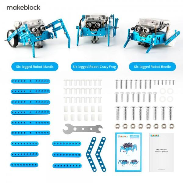 """Makeblock MINT Roboter Erweiterung 3-in-1 """"Six-legged Robot"""" (Add-on Paket)"""