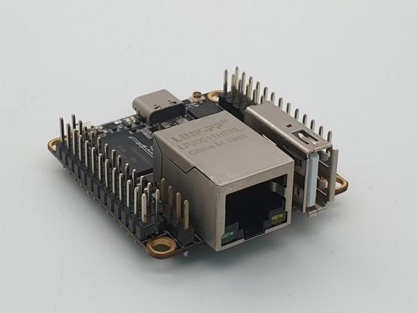 Rock Pi S - 512 MB, mit BT und WiFi, POE ready (POE HAT nötig)