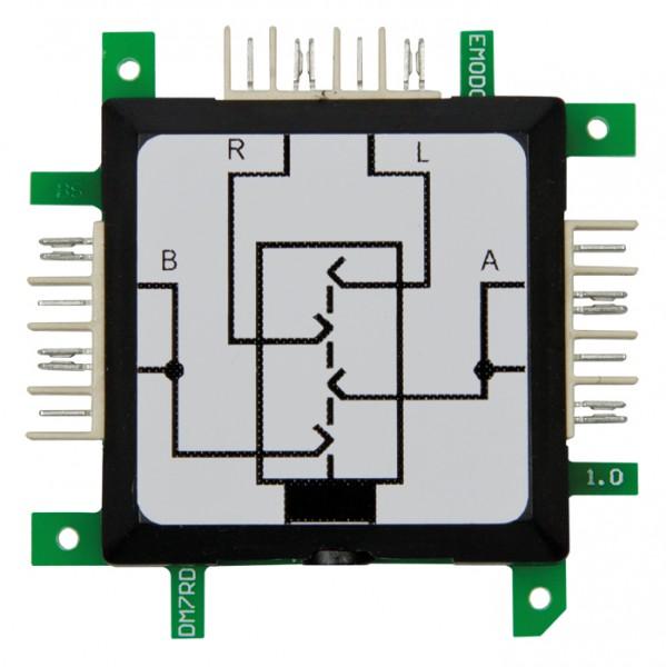 ALLNET Brick'R'knowledge Klinkenbuchse 3,5mm Stereo+Mikro (4polig) seitlich