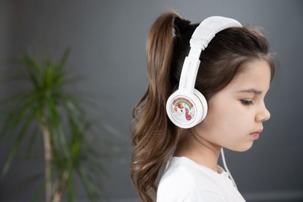 Onanoff Kopfhörer für Kinder | Basic | Weiß