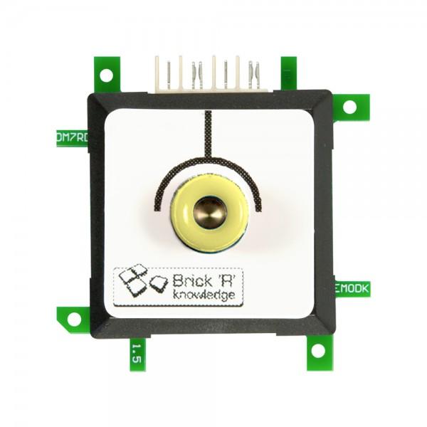 ALLNET Brick'R'knowledge Messadapter 4mm Endpoint Gelb