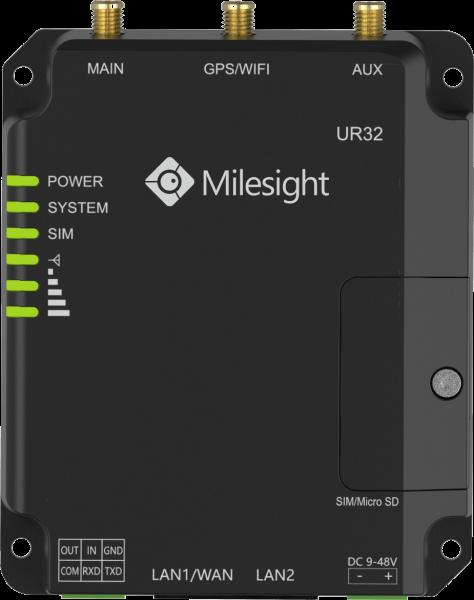 Milesight IoT Ind. Cellular Router UR32