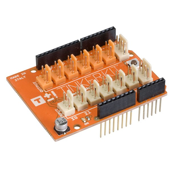 Arduino® Shield - TinkerKit Sensor Shield V.2 module