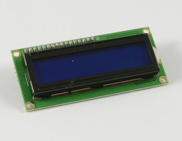 ALLNET 4duino Display Modul LCD1602 Backlight Blau